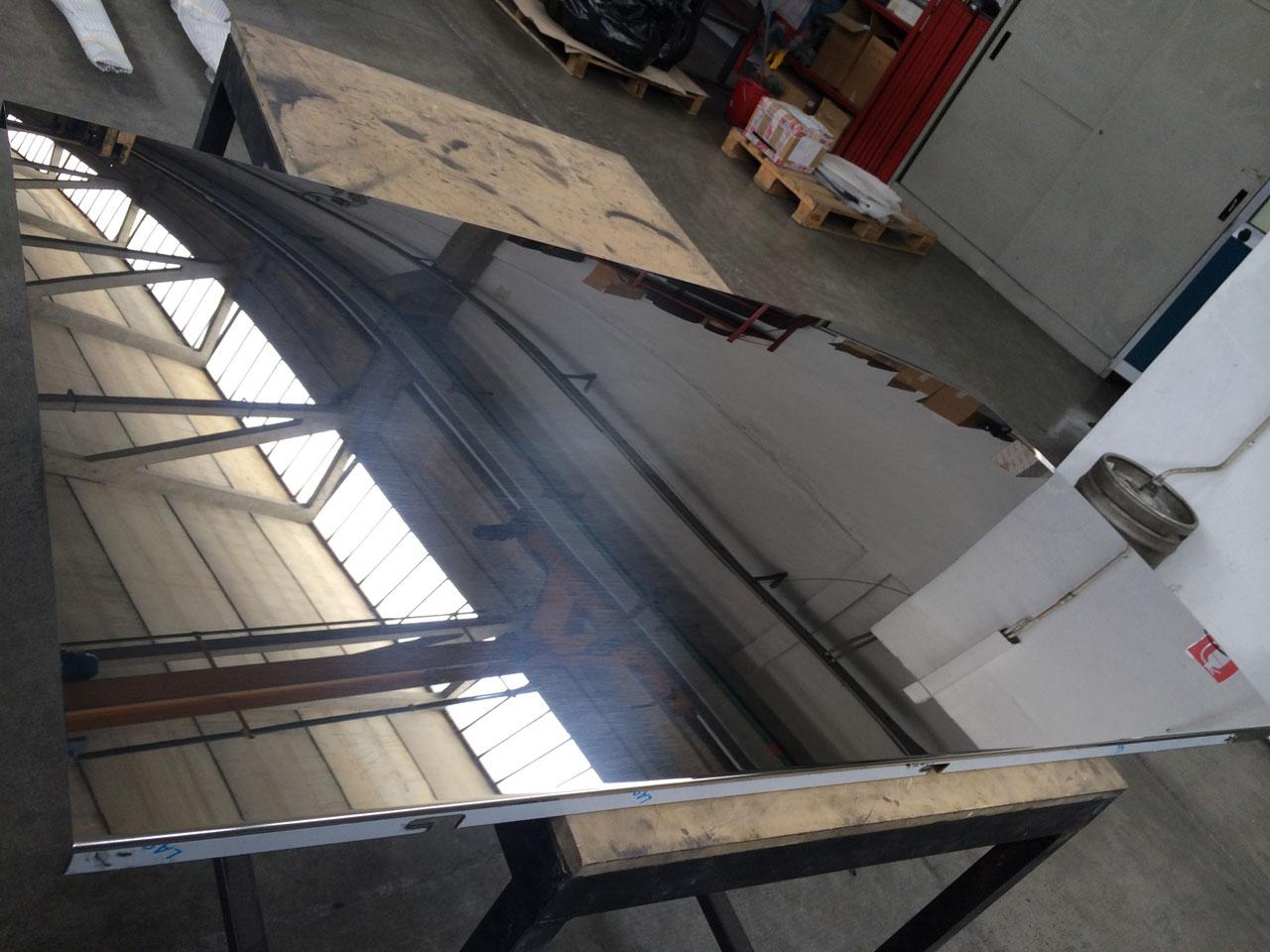 Lm lucidatura metalli alpignano torino for Arredamento per negozi torino